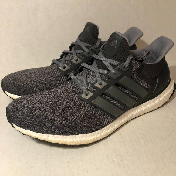 Adidas Ultraboost 1.0 LTD Mystery Grey Mens Sz 14